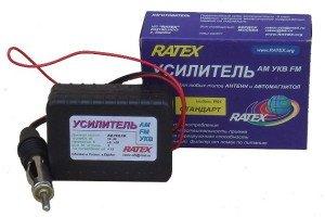 На фото - антенный автомобильный усилитель для пассивных антенн, elantra-club.ru