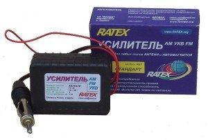 Фото усилителя для автомобильных антенн и магнитол, el-shema.ru