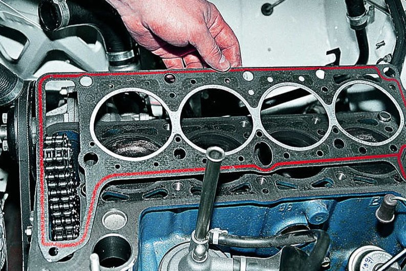 Схема снятия головки блока цилиндров форд транзит фото 710-993