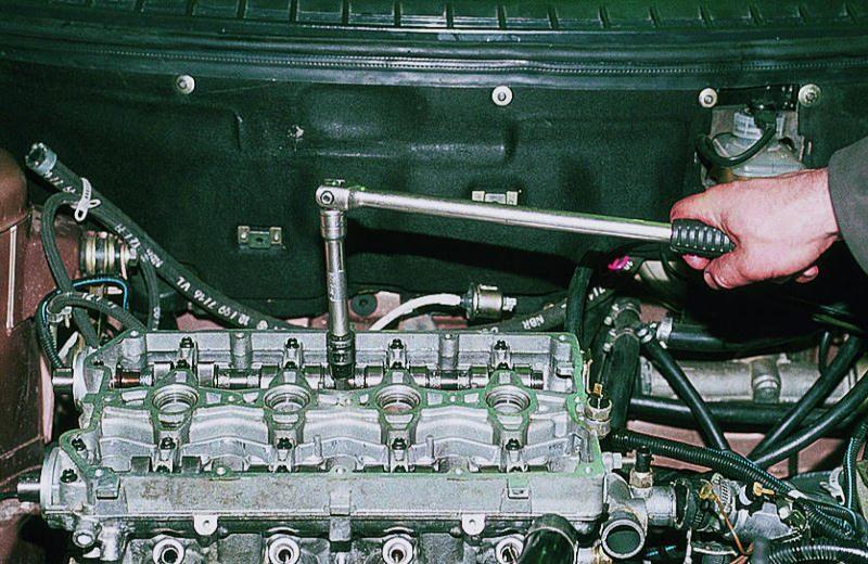 Схема снятия головки блока цилиндров форд транзит фото 710-779
