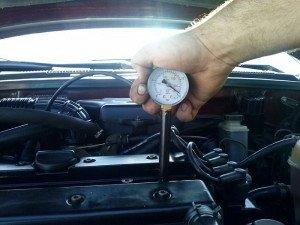 Фото замера компрессии, drive2.ru
