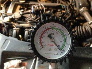 На фото - разная компрессия в цилиндрах, drive2.ru