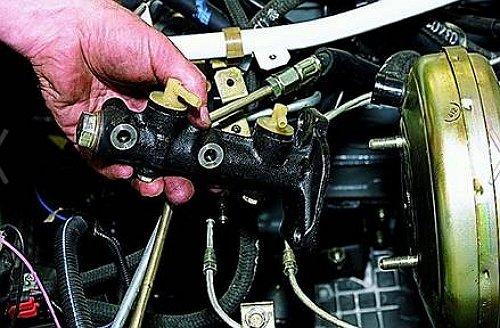 Ремонт тормозного цилиндра своими руками