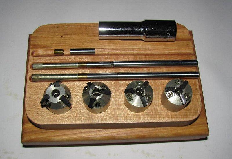 Шарошки для прирезки седел клапанов