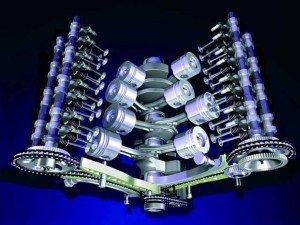 Фото V-образного двигателя, propan-metan.ru