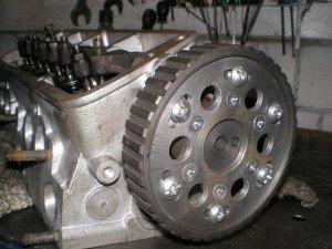 Фото настройки разрезной шестерни на двигателе ВАЗ 2108, stoa.com.ua