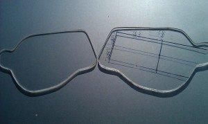 Фото заготовок новых стекол для фар из оргстекла, hidplanet.ru