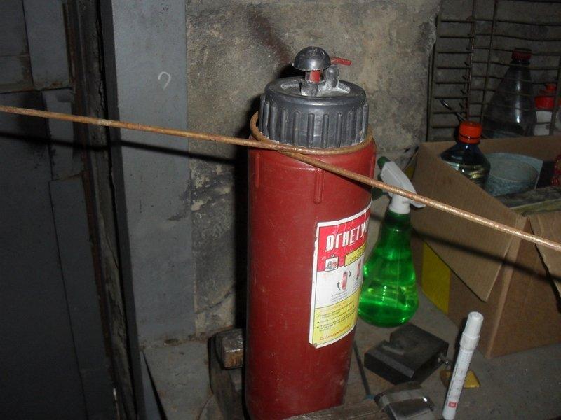 Что можно сделать из огнетушителя своими руками