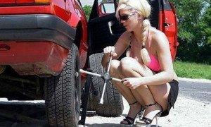 Фото установки запасного колеса, svoy-remontik.ru