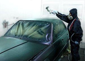 Фото покраски авто в матовый цвет, autoservis74.ru