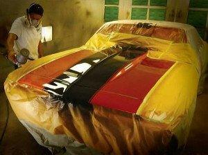 На фото - автомобильные краски слабоукрывистого типа, auto-volgograd.com