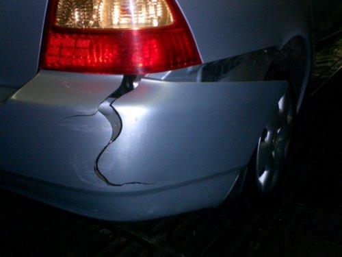 Фото трещины на пластиковом бампере авто