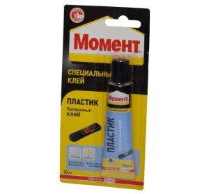 На фото - универсальный клей для ремонта пластикового бампера, i-glue.ru