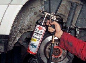 Фото обработки арочных колес и днища авто антикором, svitauto.net