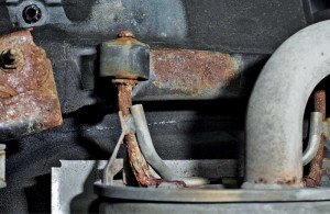Фото коррозии выхлопной системы автомобиля, autobild.ua1