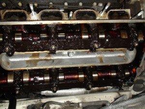 Фото приработки двигателя со старым маслом, oil-club.ru