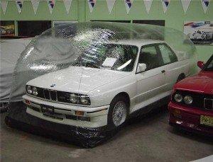 Фото консервации автомобиля, autoresourse.ru