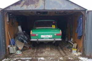 Фото железного гаража для автомобиля, autoshcool.ru
