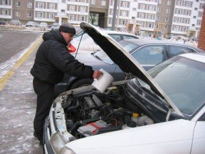 Фото поиска причины отказа двигателя в мороз, stop-gai.by