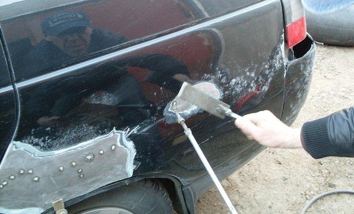 Как вытянуть кузов автомобиля
