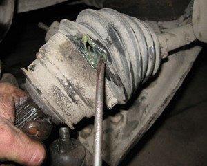 Фото повреждения пыльника шруса, lanos-fan.at.ua