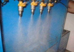 Фото ультразвуковой промывки форсунок инжектора на стенде, bcs-autostyle.ru
