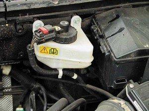 На фото - двигатель автомобиля-утопленника, autocentre.ua