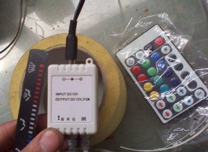 Фото светодиодного контроллера и пульта, drive2.ru