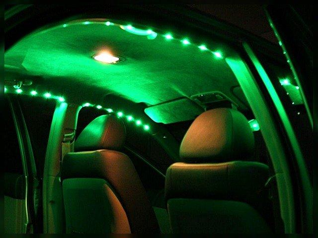 Светодиодная подсветка на авто своими руками