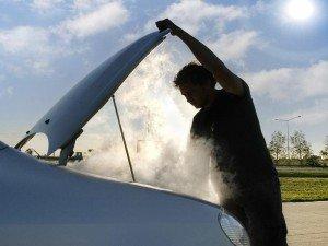 Фото дыма из капота автомобиля, photo.creativez.com