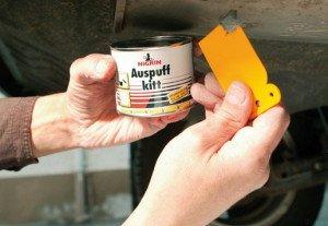 Фото эпоксидной пасты для заделки трещин, autokaubad24.ee