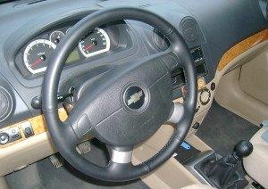 Фото  кожаного руля автомобиля, drive2.ru