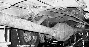Фото отключения заднего моста автомобиля, lib.rus.ec