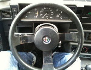 Фото старого руля, drive2.ru