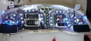Фото замены подсветки на прибойной панели, sochi-avto-remont.ru