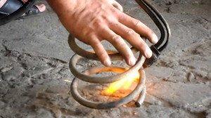 Фото термохимического способа ремонта пружин авто, youtube.com