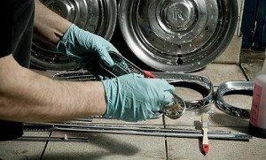 Фото обезжиривания хромированных деталей авто, 365cars.ru