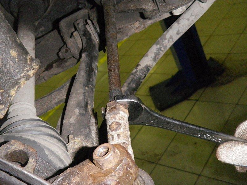 Замена рулевых тяг на рено своими руками