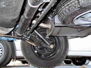 Фото торсионной подвески автомобиля, rusauto.net