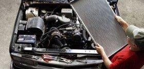 На фото работа по промывке радиатора автомобиля, pavlodar.pav.slando.kz