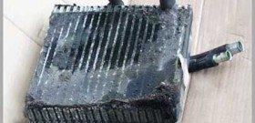 На фото - кондиционер авто нуждающийся в чистке, airconditioning.ru