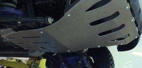 На фото - установленная защита картера двигателя, navto52.ru