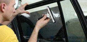 На фото - тонирование стекл автомобиля, lunch-park.ru