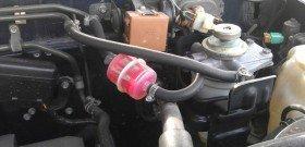 На фото - фильтр топливный дизельного авто, pajero4.com
