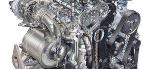 На фото - двигатель автомобиля сбоку, designworldonline.com