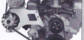 На фото - вибрирующие элементы двигателя, nailheadbuick.com