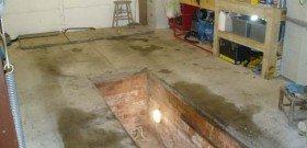 На фото - устройство смотровой ямы в гараже, passionford.com