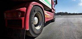 На фото - эксплуатация шин грузового автомобиля, gwauto.by