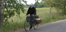 Фото велосипедиста, realbrest.by