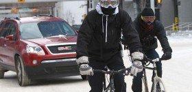 Фото зимней экипировки для велосипедистов, realbrest.by